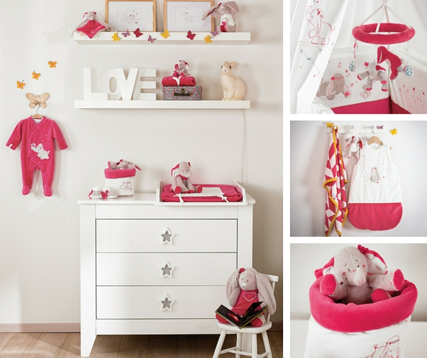 La collection anna et pili de noukie 39 s for Chambre bebe noukies