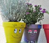 Customisation pots de fleurs