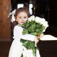 Petite fille baptême