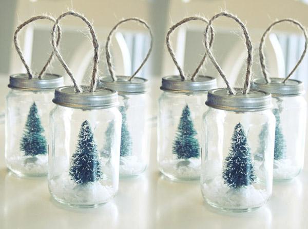 Petit pot bébé recyclage déco Noël | Berceau Magique