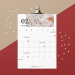 Free Printable : calendrier février 2020