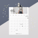 Free Printable : calendrier mars 2020