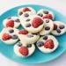 Bouchées glacées de yaourt aux fruits