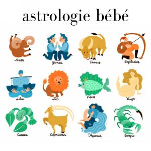 signe astrologique et caractère bébé