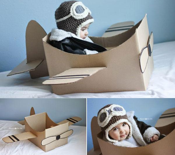 Connu DIY : Fabriquez votre avion en carton | Berceau Magique QK63