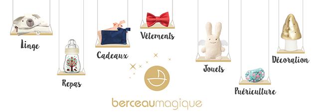 Boutique en ligne Berceaumagique.com