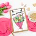 Fête des mères : un joli coloriage pour maman !