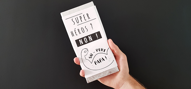 Emballage pour tablette de chocolat
