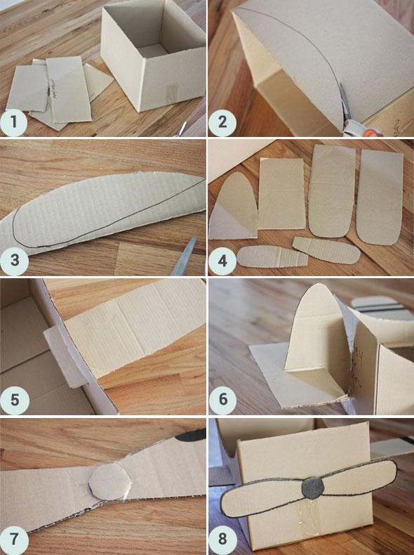 Tuto DIY : fabriquer un avion en carton
