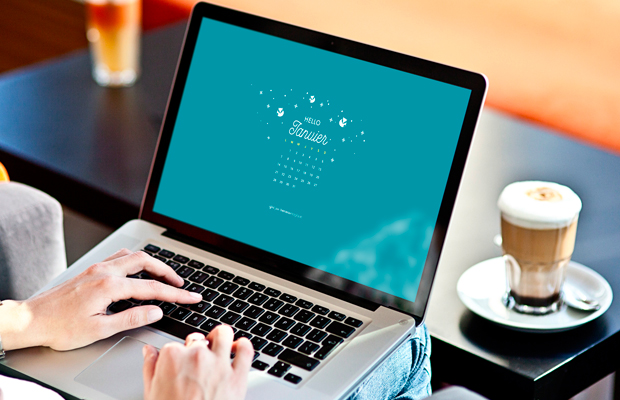 Fond d'écran ordinateur janvier 2019