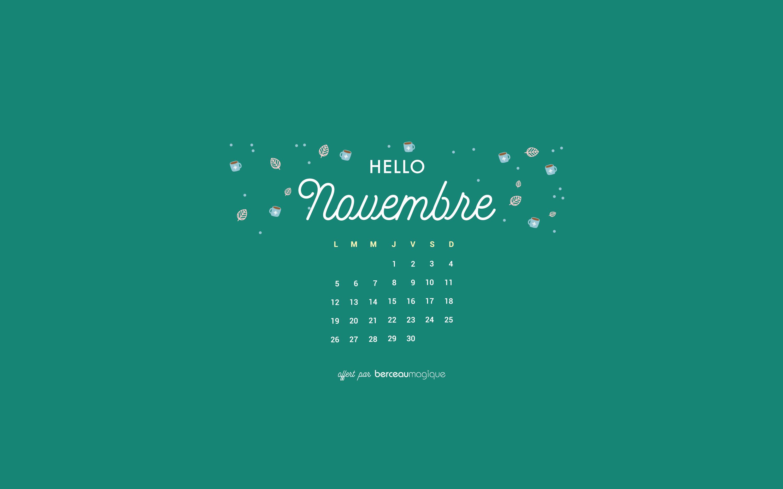 Calendrier Novembre 2018 : Récap' des dates phares et free ...