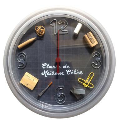 Horloge cadeau pour la maîtresse
