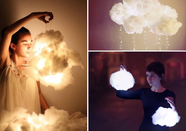 DIY Lampe nuage