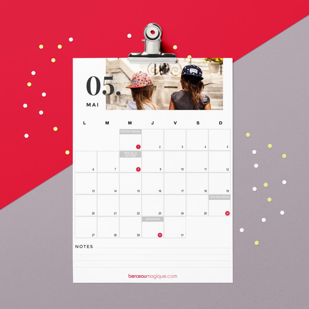 Calendrier Mai2019.Free Printable Calendrier Mai 2019 Berceau Magique