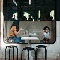 aller au restaurant avec son enfant