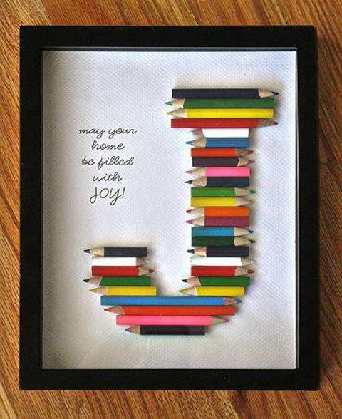 Populaire Tutoriel pour enfant : un tableau crayons de couleur EZ04
