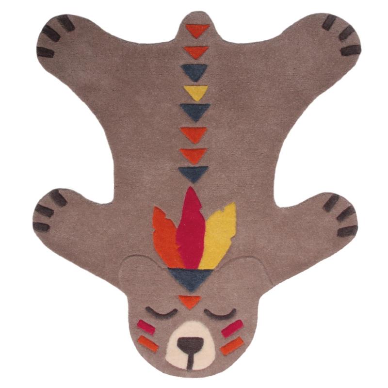 tapis indien peau d'ours flèche