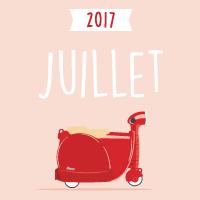 Calendrier juillet 2017