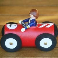 Fabriquer une petite voiture - Fabriquer une voiture en carton ...